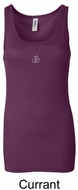 Ladies Yoga Tank � Aum Hindu Patch Longer Length Tanktop