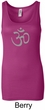 Ladies Yoga Tank - Aum Symbol Longer Length Tanktop
