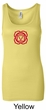 Ladies Yoga Tank – Muladhara Root Chakra Longer Length Tanktop