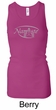 Ladies Yoga Tank – Namaste Big Print Longer Length Racerback Tanktop