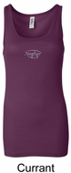 Ladies Yoga Tank � Namaste Small Print Longer Length Tanktop