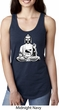Ladies Yoga Tank Top At Peace Buddha Ideal Racerback