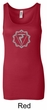 Ladies Yoga Tank Top Manipura Chakra Meditation Longer Length Tanktop