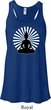Ladies Yoga Tank Top Meditating Buddha Flowy Racerback