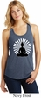 Ladies Yoga Tank Top Meditating Buddha Racerback