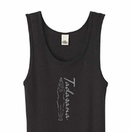 Ladies Yoga Tank Top Tadasana Mountain Pose Organic Tanktop