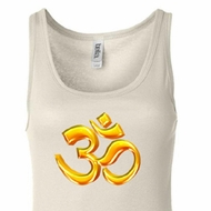 Ladies Yoga Tanktop 3D OM Longer Length Tank Top