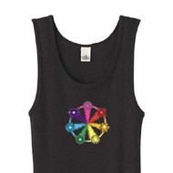 Ladies Yoga Tanktop 7 Chakra Circle Organic Tank Top