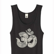 Ladies Yoga Tanktop Ganesha OM Organic Tank Top