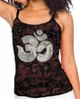Ladies Yoga Tanktop Ganesha OM Tie Dye Tank Top