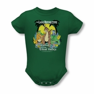Land Before Time Baby The Great Valley Kelly Green Infant Babies Creeper