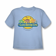 Land Before Time Shirt Kids Dino Breakout Light Blue Youth Tee T-Shirt