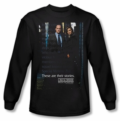 Law & Order: SVU Shirt SVU Long Sleeve Black Tee T-Shirt