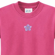 Layered Flower Patch Kids Yoga Shirts