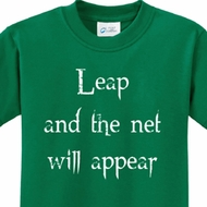 Leap Kids Yoga Shirts