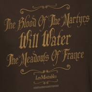 Les Miserables Martyrs Shirts