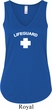 Lifeguard Ladies Flowy V-neck Tank Top