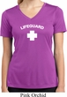 Lifeguard Ladies Moisture Wicking V-neck Shirt