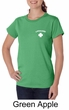 Lifeguard Ladies Organic T-Shirt Pocket Print