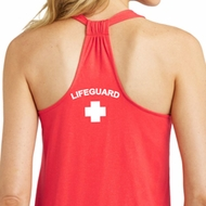 Lifeguard Neck Print Ladies Shirts