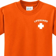 Lifeguard Pocket Print Kids Shirts