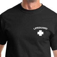 Lifeguard Pocket Print Mens Shirts