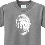 Little Buddha Head Kids Yoga Shirts