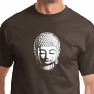 Little Buddha Head Mens Yoga Shirts