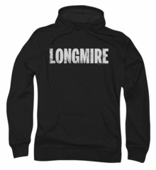 Longmire Hoodie Sweatshirt Logo Black Adult Hoody Sweat Shirt