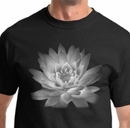 Lotus Flower Mens Yoga Shirts