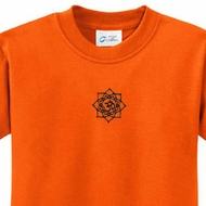 Black Lotus OM Patch Kids Yoga Shirts