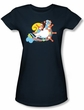 Love Boat Juniors Shirt The Doctor is in Navy Blue T-Shirt