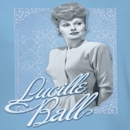 Lucille Lucy Ball Blue Lace Shirts