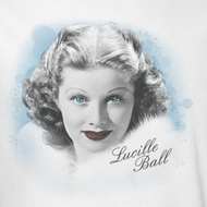 Lucille Lucy Ball In Blue Shirts