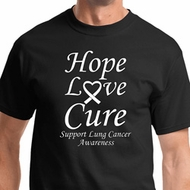 Lung Cancer Shirts