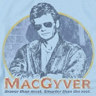 MacGyver Title Shirts