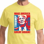 Donald Trump Make America Great Again Portrait Mens Shirts