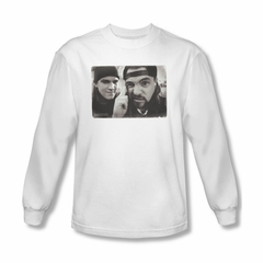 Mallrats Shirt Mind Tricks Long Sleeve White Tee T-Shirt