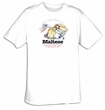 Maltese T-shirt - I'm a Proud Owner of a Maltese - Funny Dog Tee