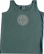Mandala Symbol Yoga Mens Tribal Adult Tanktop Tank