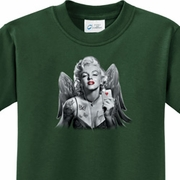 Marilyn Butterfly Kids Shirts