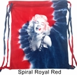 Marilyn Monroe Bag Marilyn Laughing Tie Dye Bag