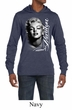 Marilyn Monroe Shirt Black and White Portrait Mens Lightweight Hoodie