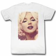 Marilyn Monroe Shirt Picture White T-Shirt