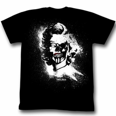 Marilyn Monroe Shirt Pretty Lady Adult Black Tee T-Shirt