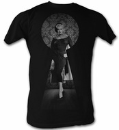 Marilyn Monroe T-shirt Long Black Dress Adult Black Tee Shirt