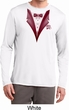 Maroon Tuxedo Mens Moisture Wicking Long Sleeve Shirt