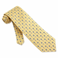 Martini Time Yellow Silk Tie Necktie � Men�s Food Drink Neck Tie