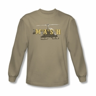 Mash Shirt Chopper Long Sleeve Sand T-Shirt