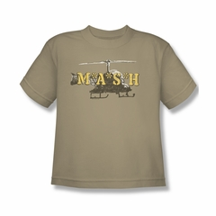 Mash Shirt Kids Chopper Sand Youth T-Shirt